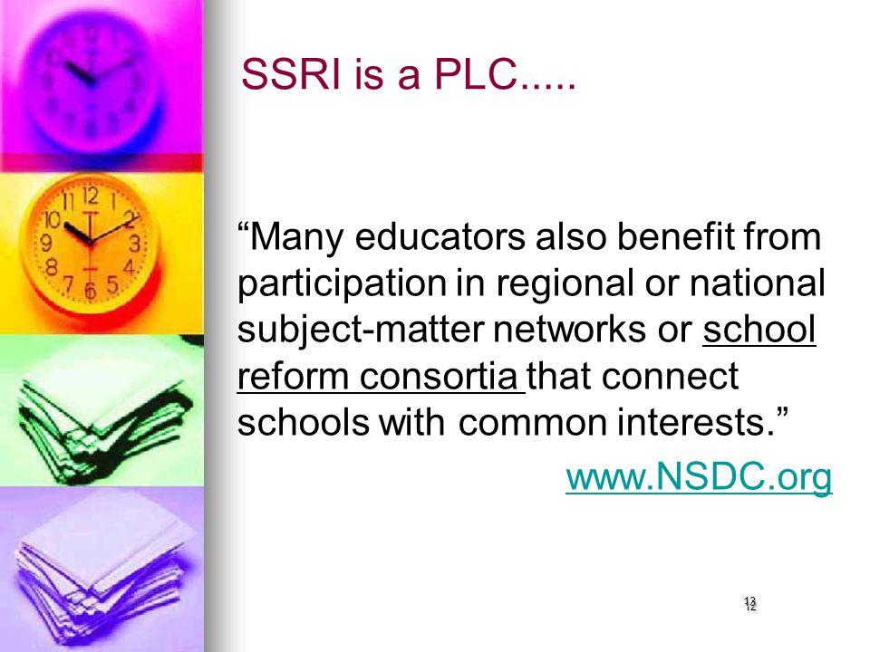 12 SSRI is a PLC.....