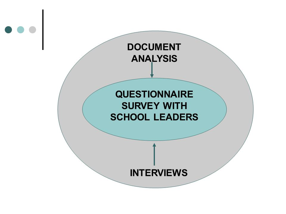 QUESTIONNAIRE SURVEY WITH SCHOOL LEADERS INTERVIEWS DOCUMENT ANALYSIS