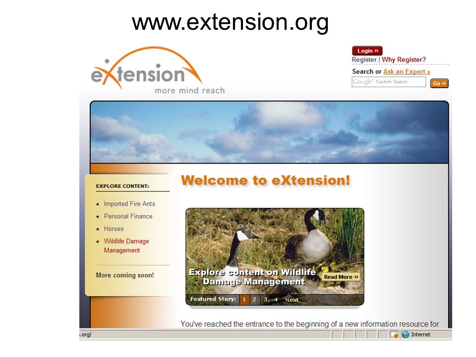www.extension.org