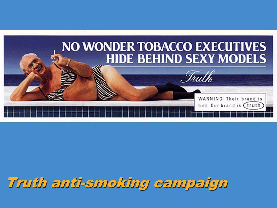 Truth anti-smoking campaign