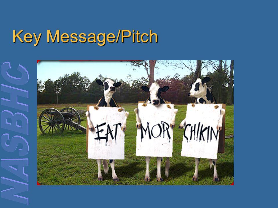 Key Message/Pitch