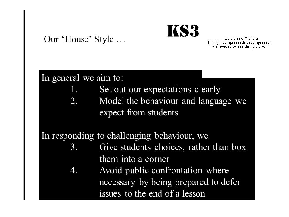 King Edward VI School Bury St Edmunds What we know from research into behaviour management … Reactive approaches to difficult behaviour can and do mak