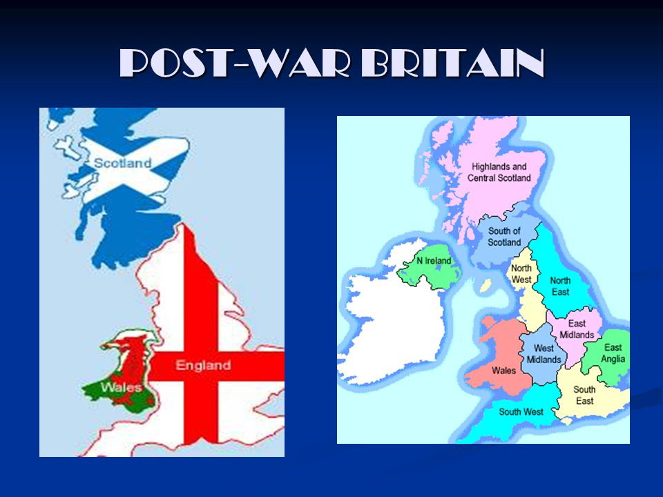 POST-WAR BRITAIN