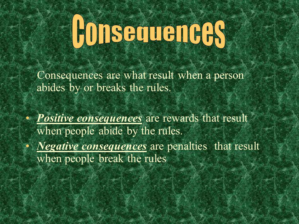 Discipline: Concerns how students BEHAVE. -HAS penalties and rewards PROCEDURES: Concern how things are DONE. -Has NO penalties or rewards.