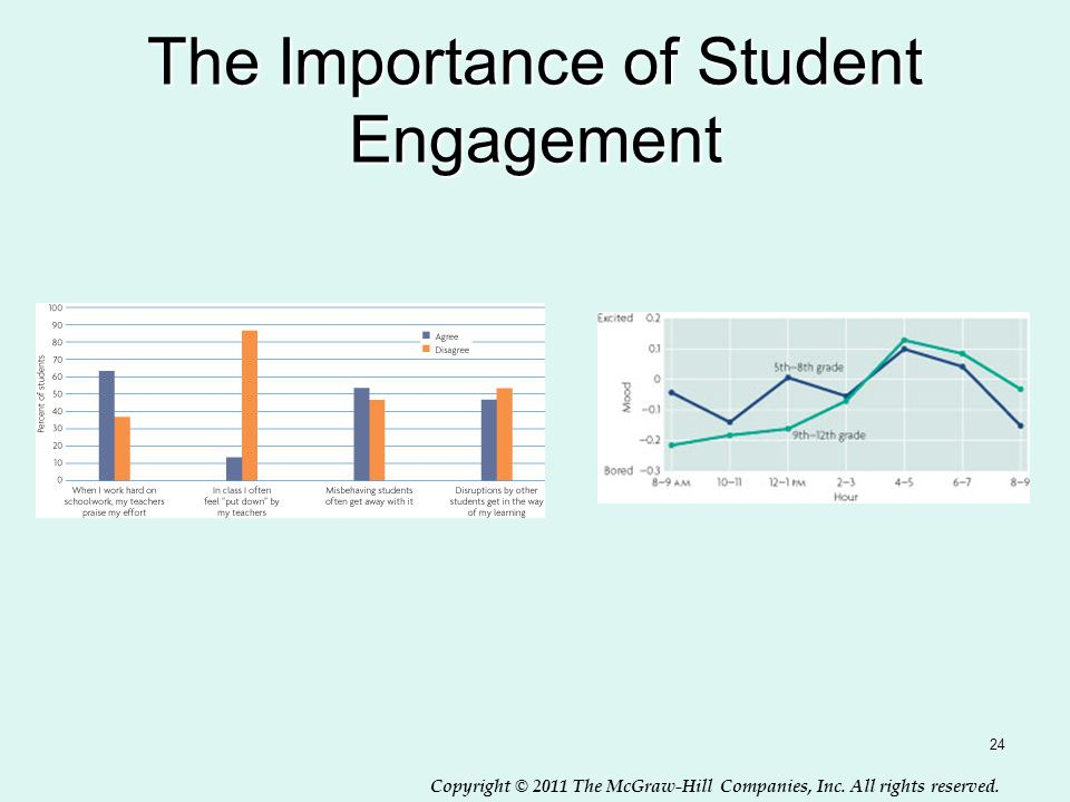 Copyright © 2011 The McGraw-Hill Companies, Inc. All rights reserved. The Importance of Student Engagement 24