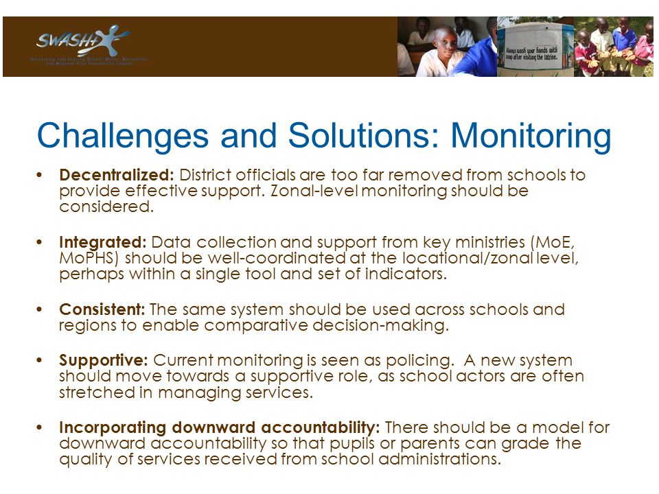Decentralized: District officials are too far removed from schools to provide effective support.