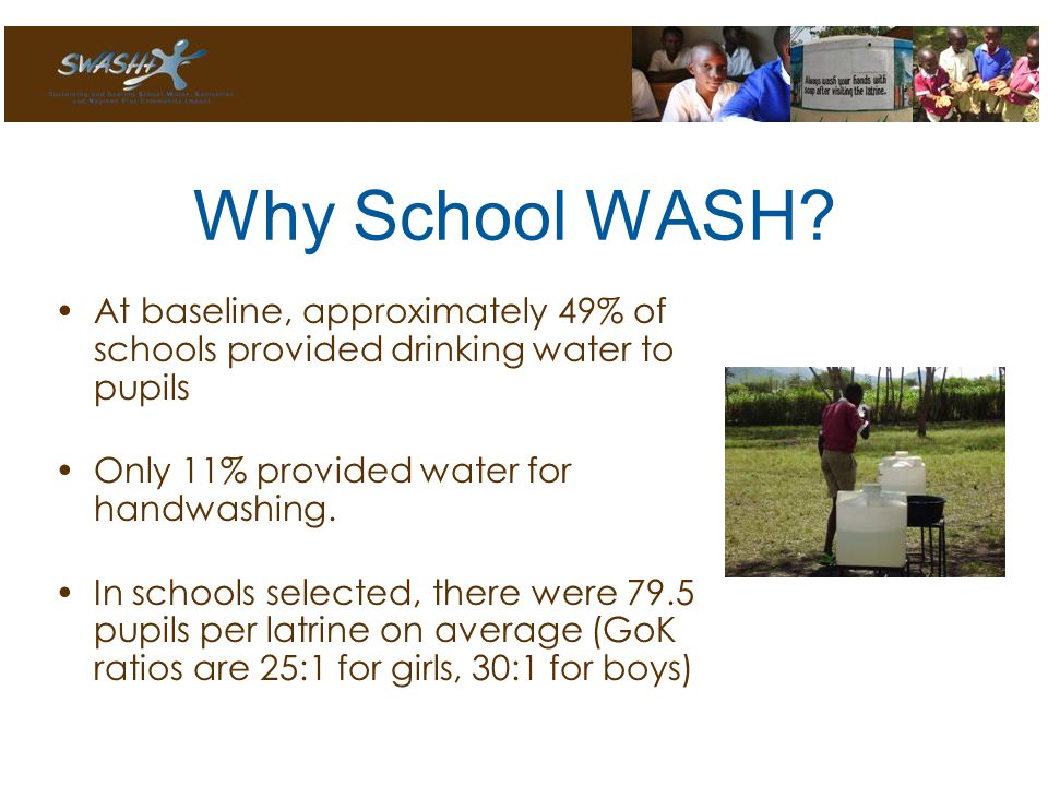 Why School WASH.