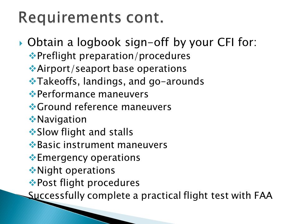  Aircraft Training  Airports  Aerodynamics  Airplane Stability, Load Factors, and Wake