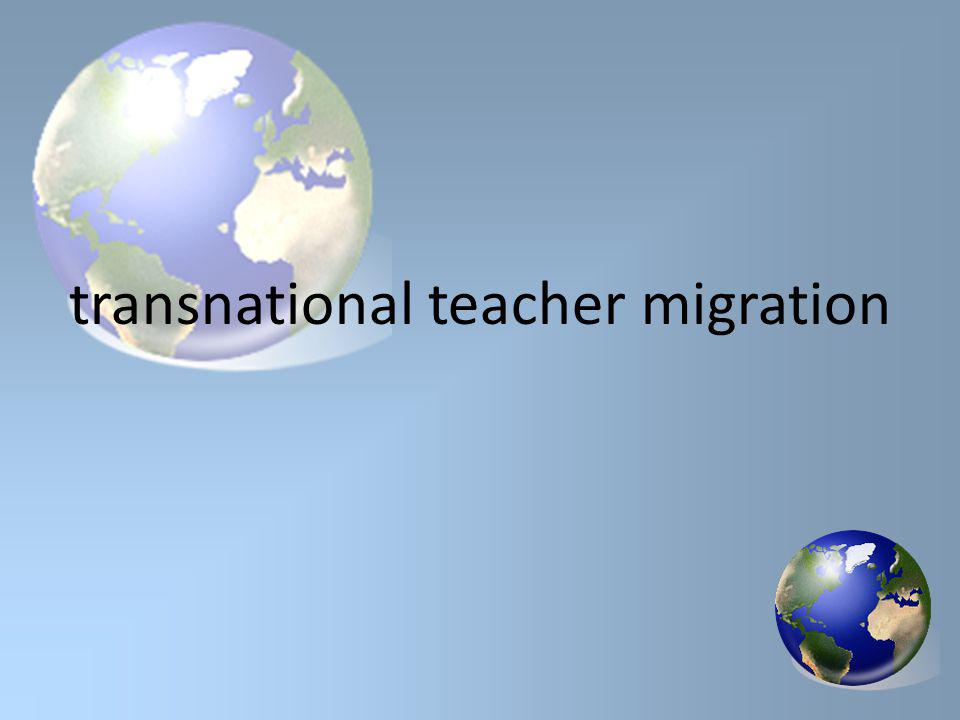 transnational teacher migration