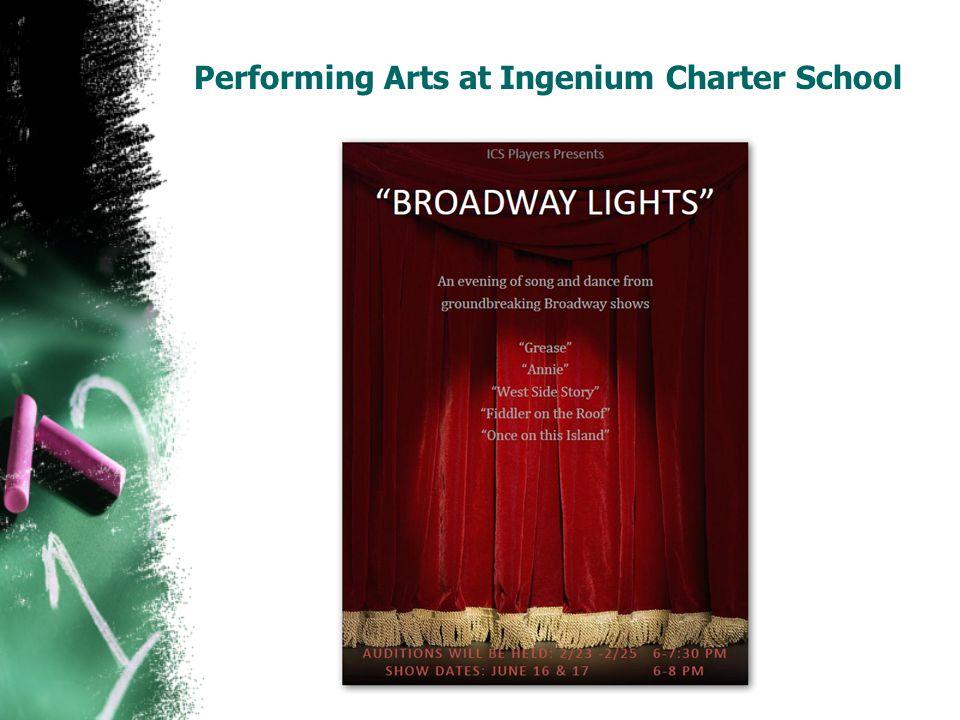 Performing Arts at Ingenium Charter School
