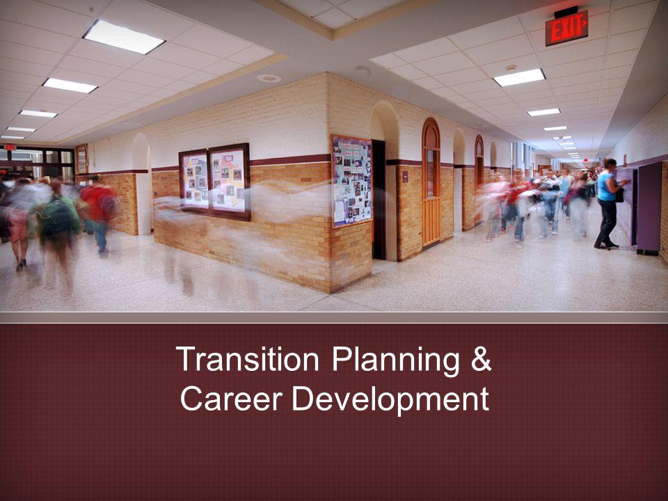 Transition Planning & Career Development