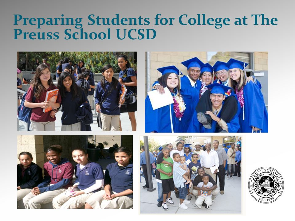 Preparing Students for College at The Preuss School UCSD
