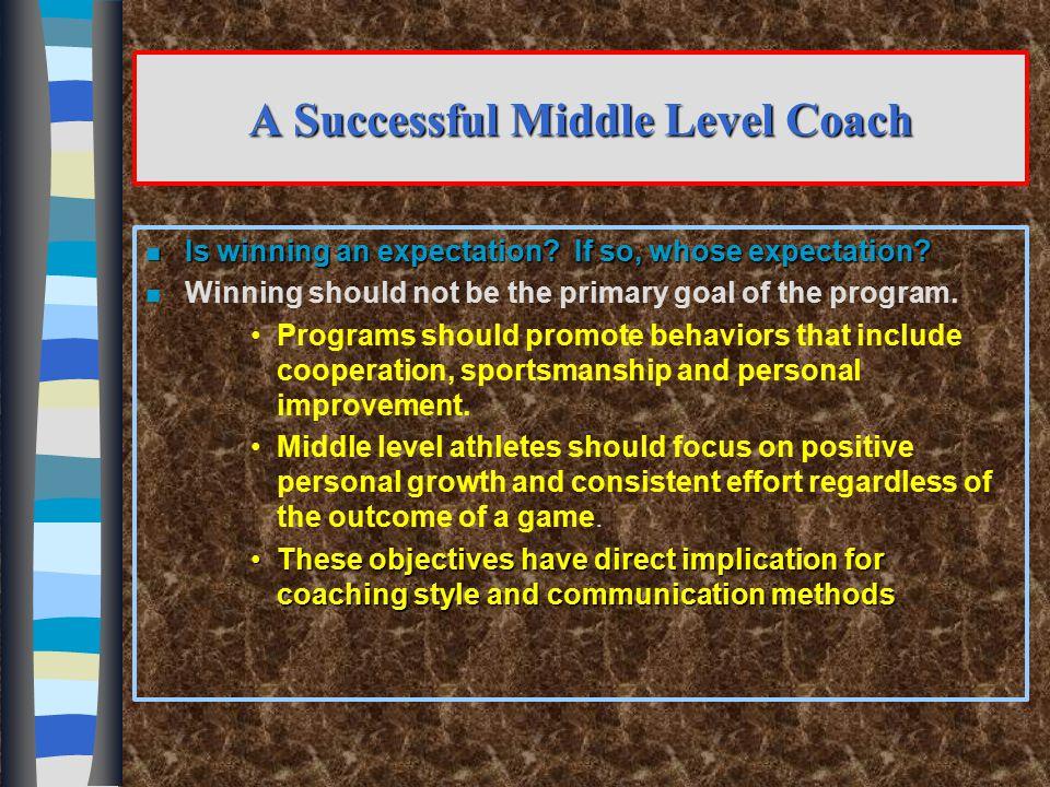 "19 Middle School Athletics ""Kids First……Winning Second"""