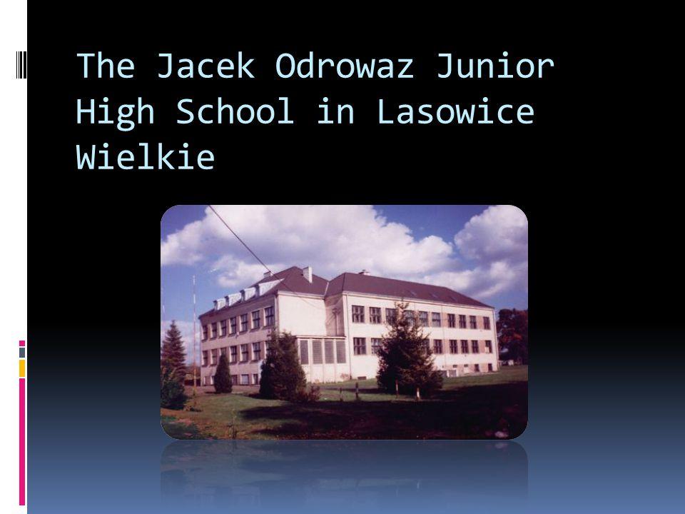 The Jacek Odrowaz Junior High School in Lasowice Wielkie