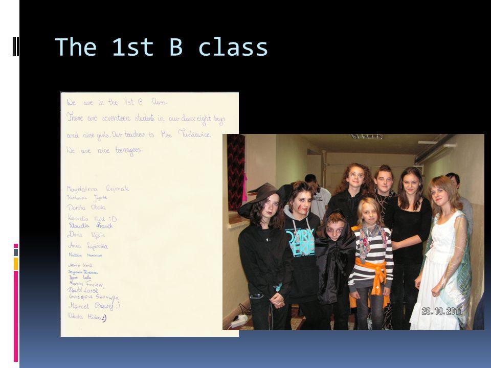 The 1st B class