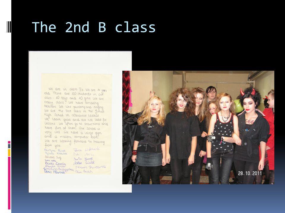 The 2nd B class