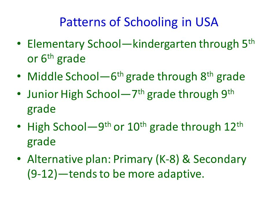 Patterns of Schooling: A Global Perspective Globally the compulsory age varies by country.