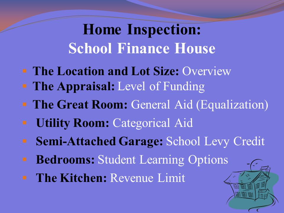 School Finance Categorical Aid (The Utility Room)  State Supreme Court Decision of Vincent v.