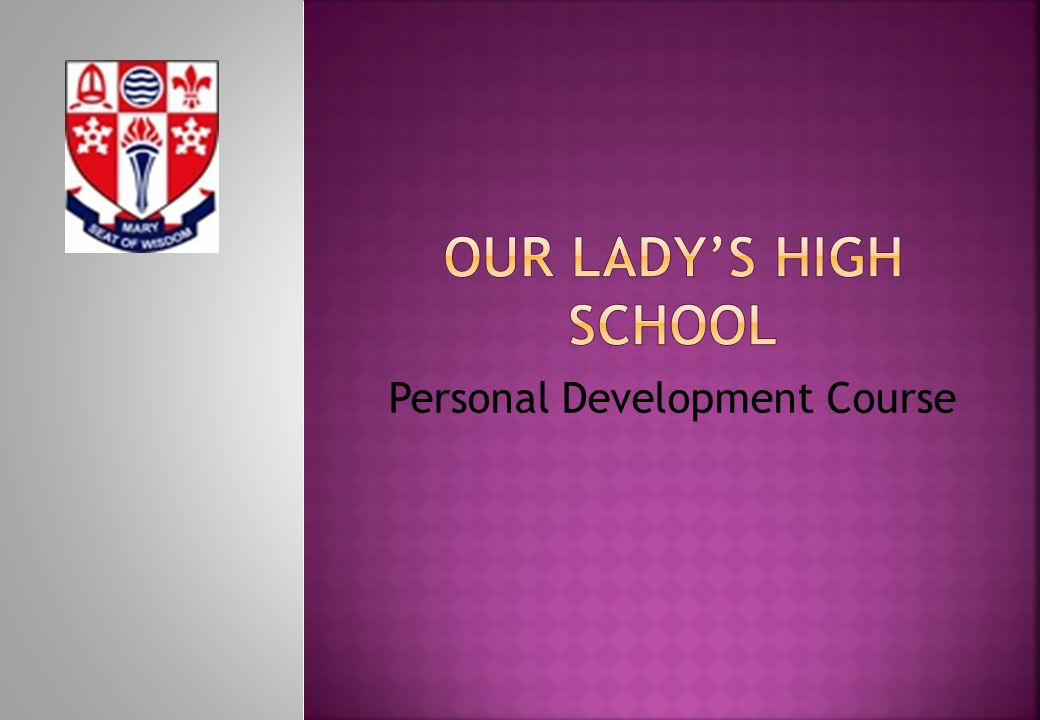 Personal Development Course