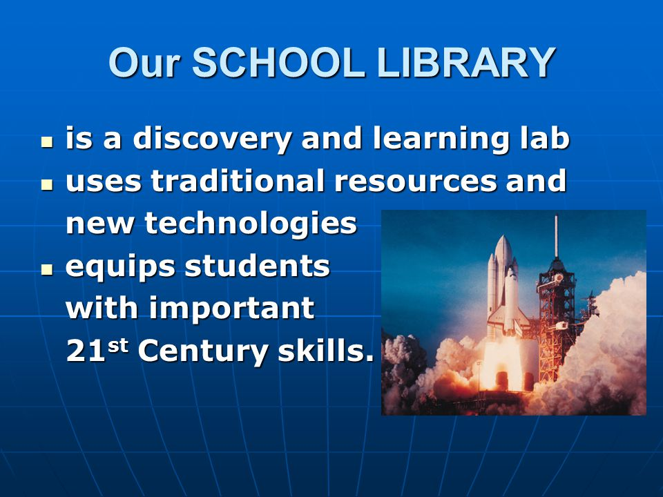 As a SCHOOL LIBRARIAN, I teach your child research and critical thinking skills research and critical thinking skills the ethical use of information the ethical use of information integrating information integrating information the use of different technologies the use of different technologies multiple forms of literacy (reading & digital information for instance) multiple forms of literacy (reading & digital information for instance) finding reliable information finding reliable information