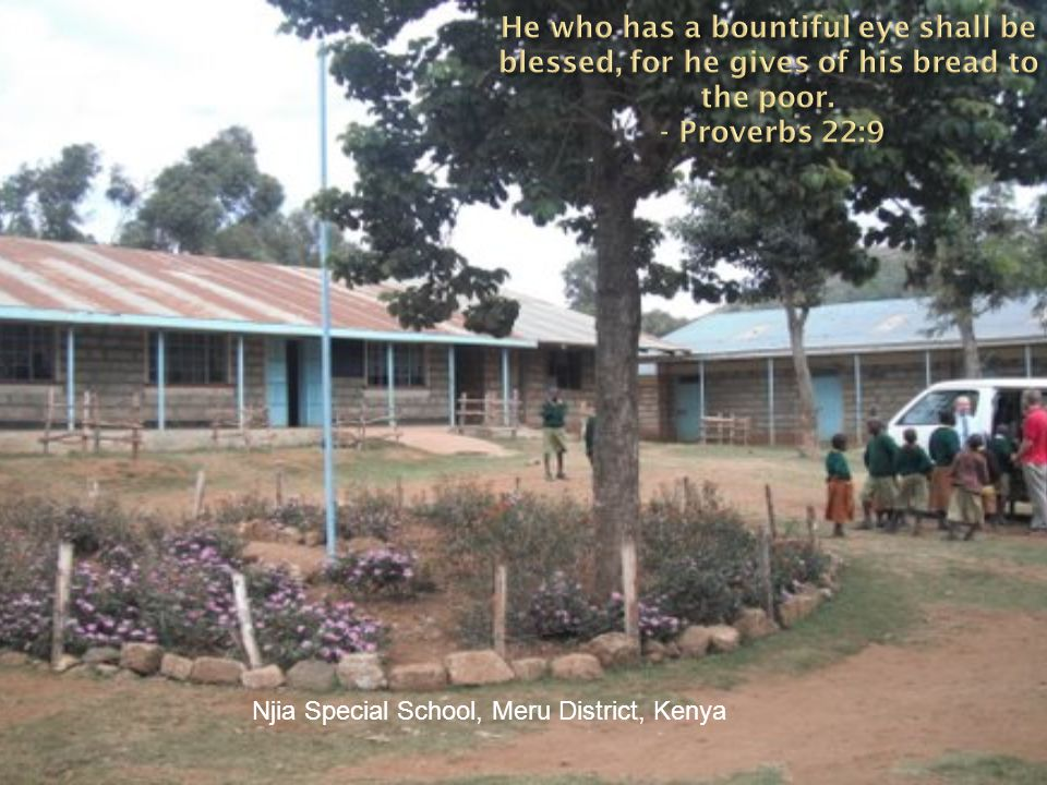 Njia Special School, Meru District, Kenya