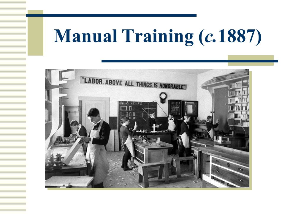 Manual Training (c.1887)