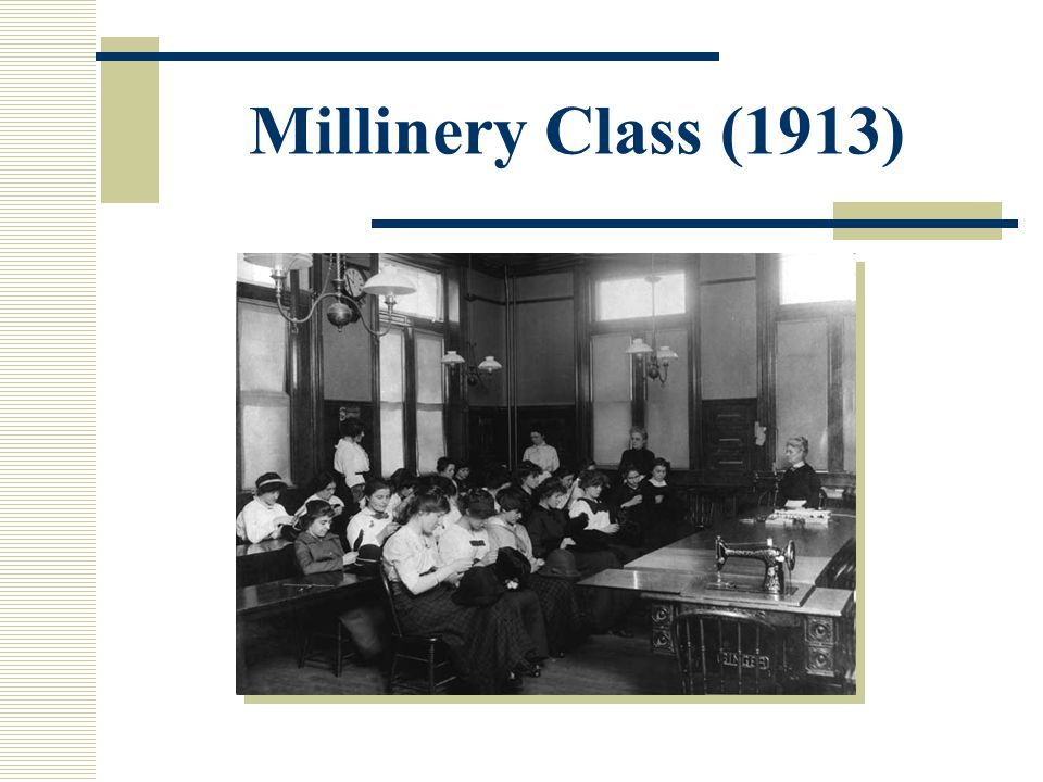 Millinery Class (1913)
