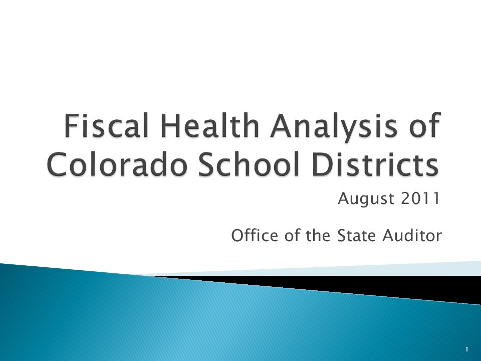  Analysis and ratios  Roles of the OSA and CDE  Trends and evaluation of ratios  Factors that impacted 6 school districts 2