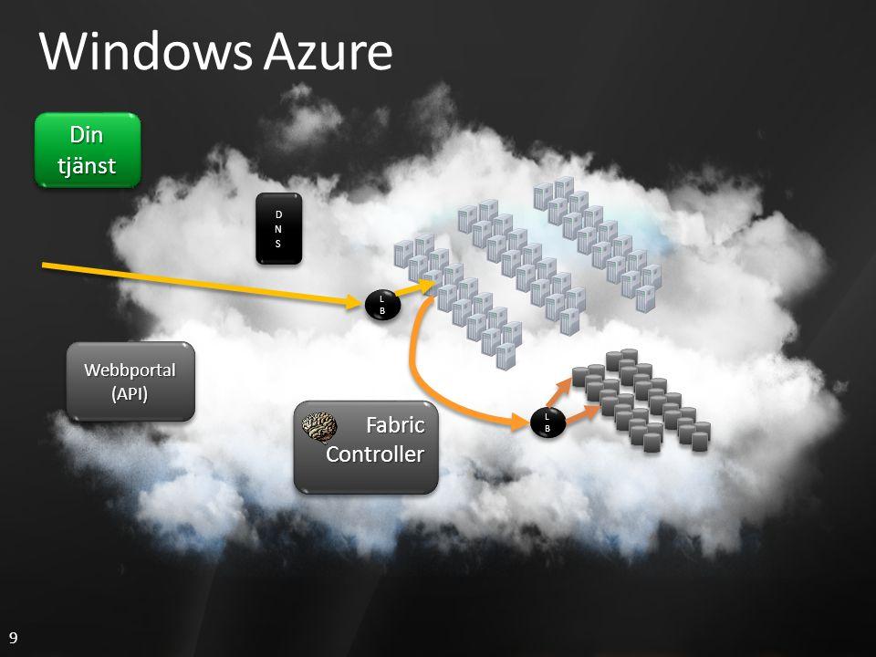 20 Windows Azure Avega Cloud Book Shelf