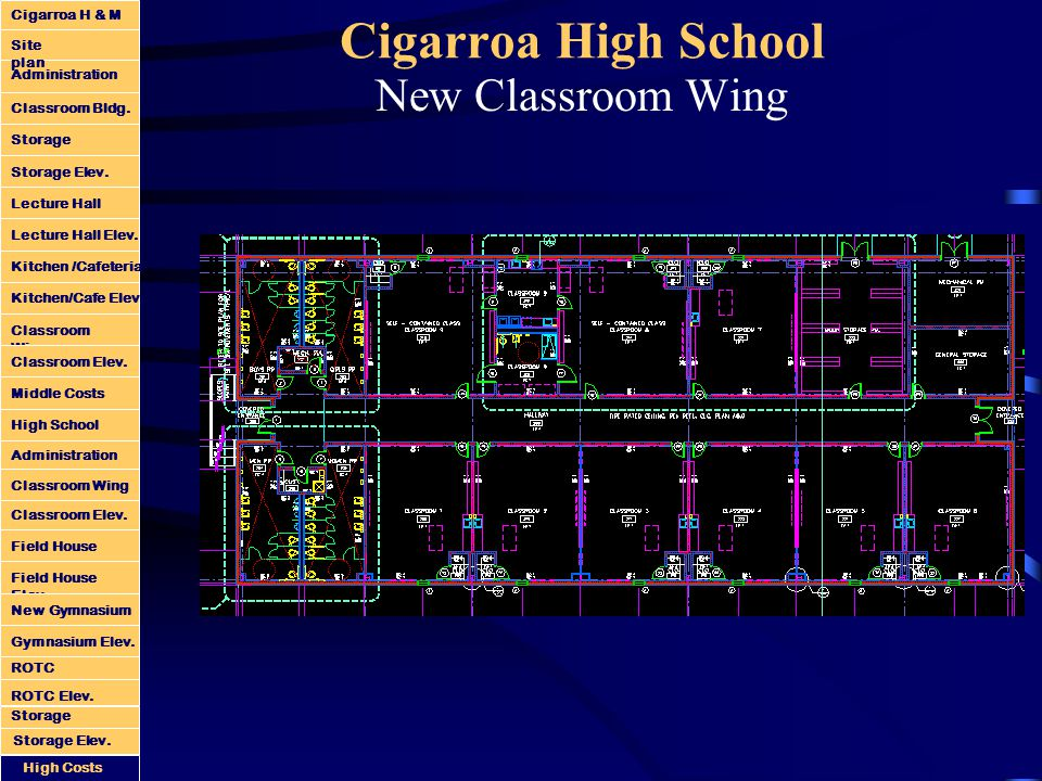 Cigarroa High School New Classroom Wing Administration Classroom Bldg.