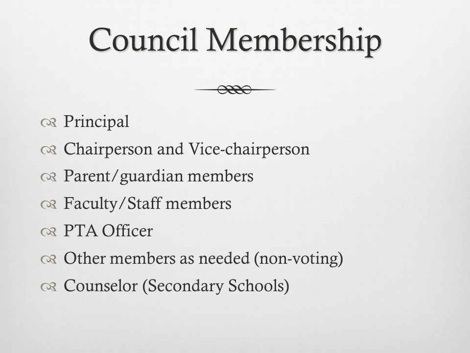 The purposes for school community councils are:  To build consistent and effective communication among parents, employees and administrators.  To al