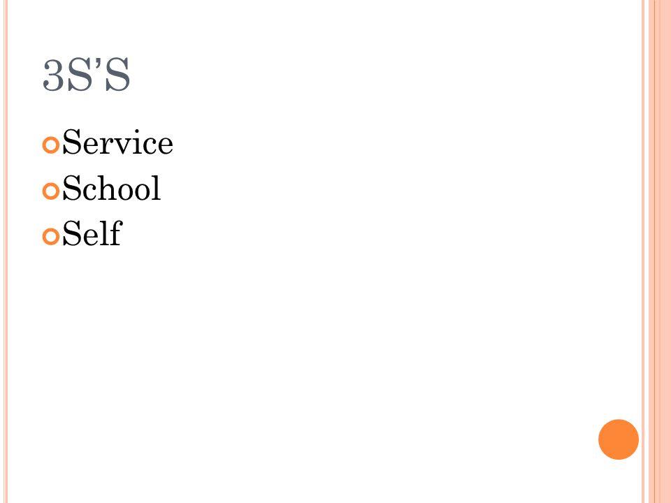 3S ' S Service School Self