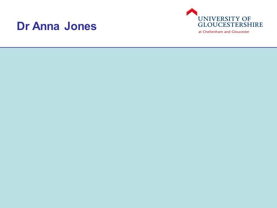 Dr Anna Jones