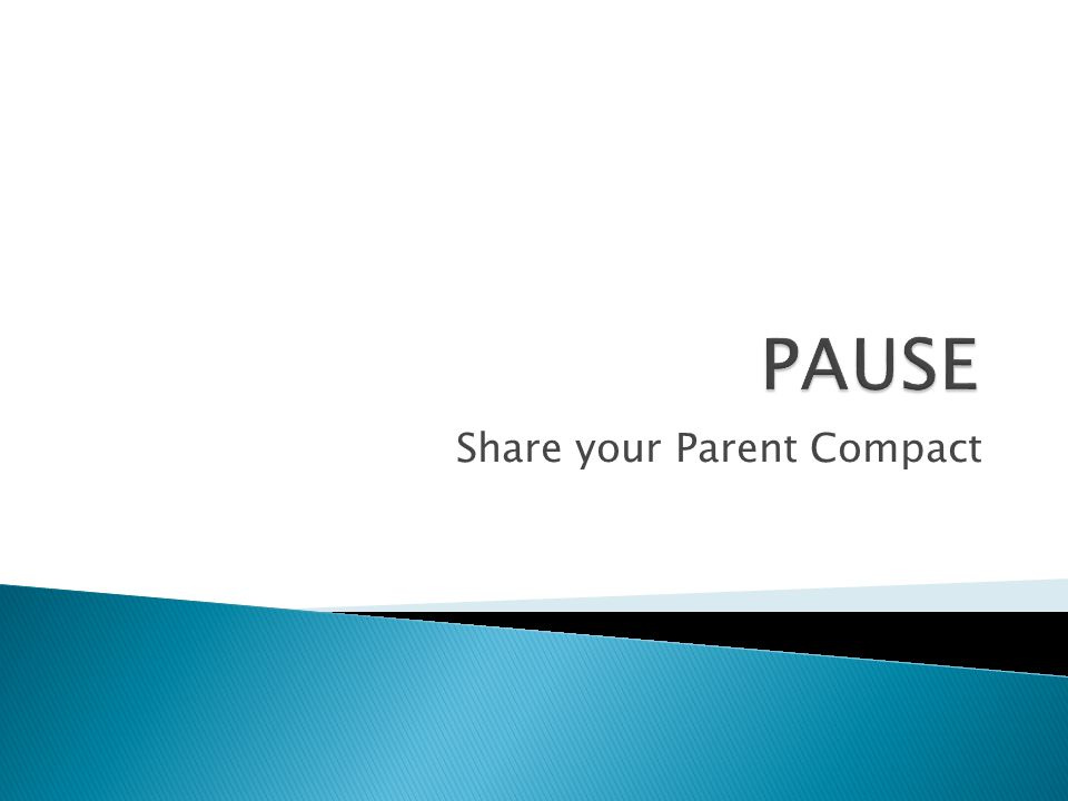 Share your Parent Compact