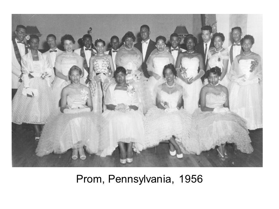 Prom, Pennsylvania, 1956
