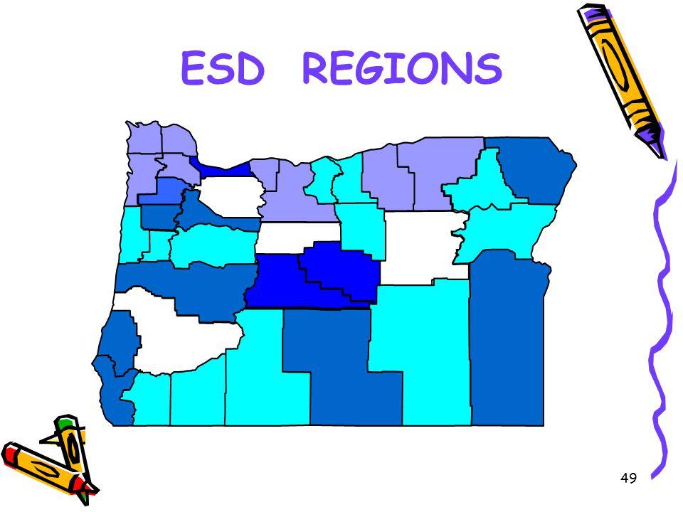 49 ESD REGIONS
