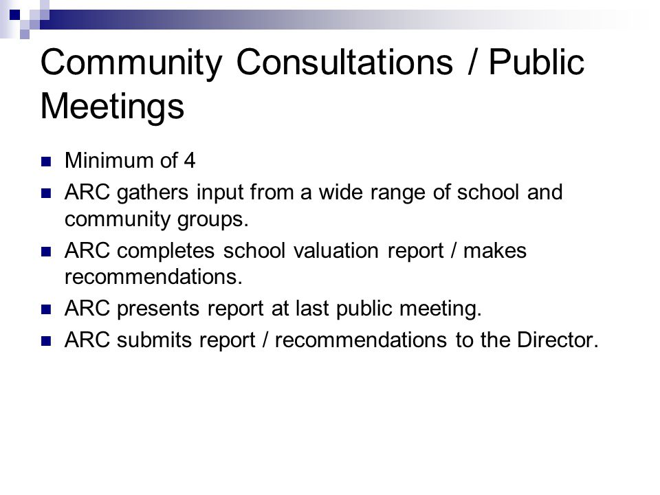 Report Review / Board Decision / Implementation Report made available to public.