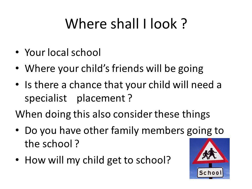 Where shall I look .