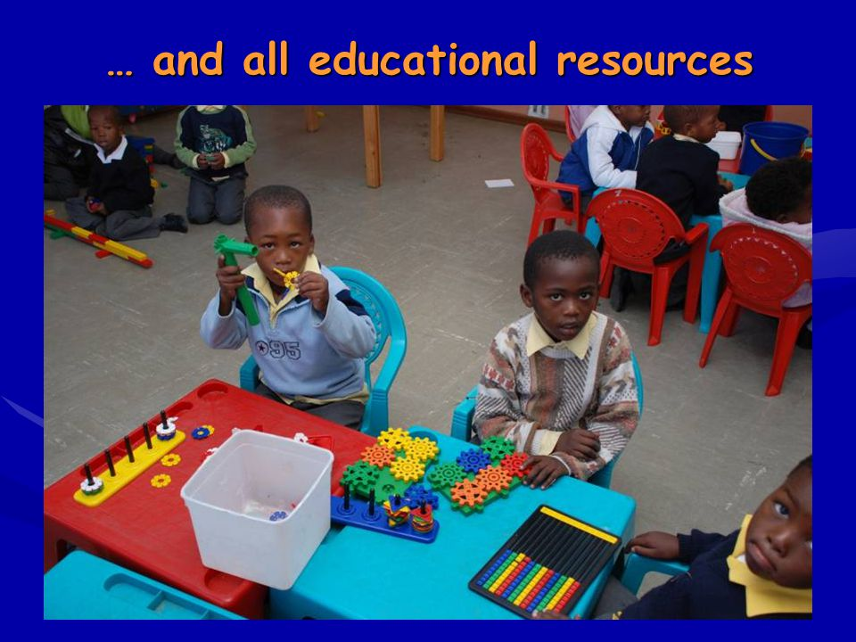 … and all educational resources