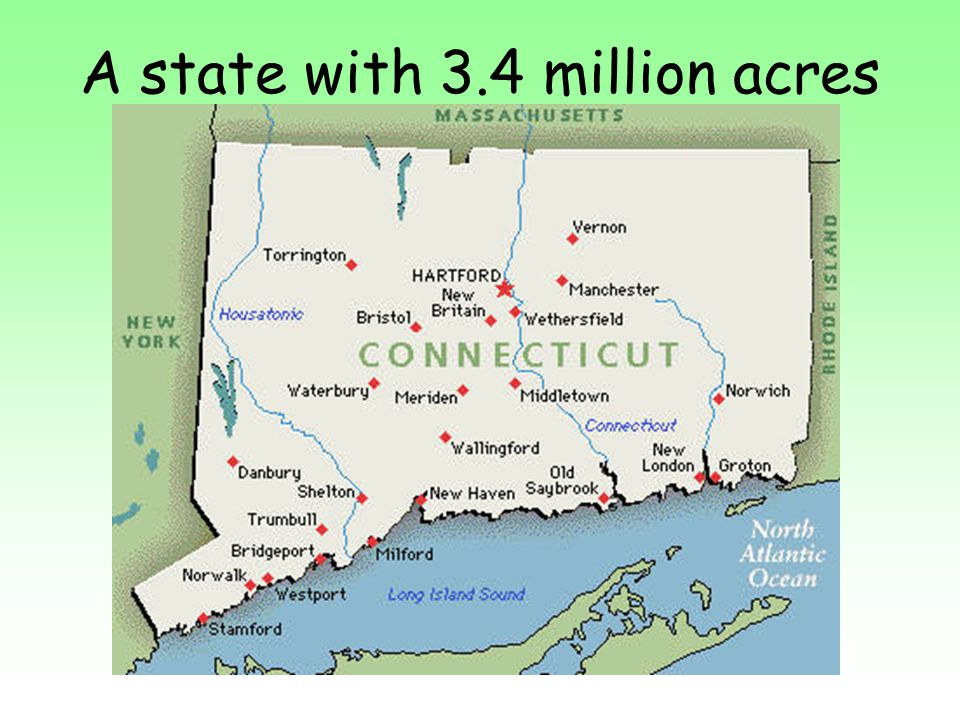 A state with 3.4 million acres