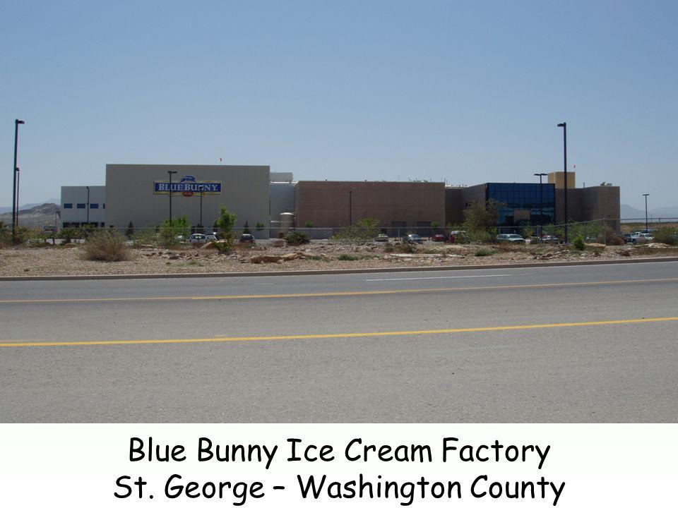 Blue Bunny Ice Cream Factory St. George – Washington County