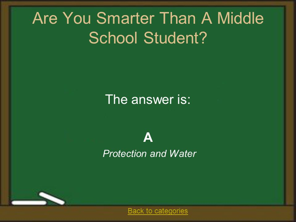 Are You Smarter Than A Middle School Student.