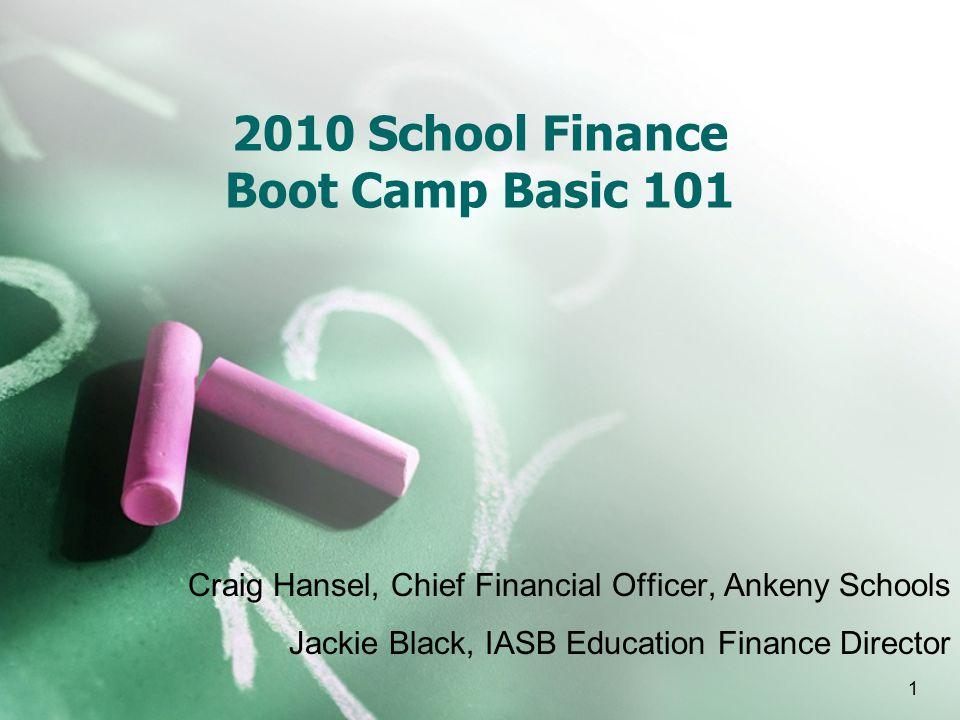 12 School Finance Basics