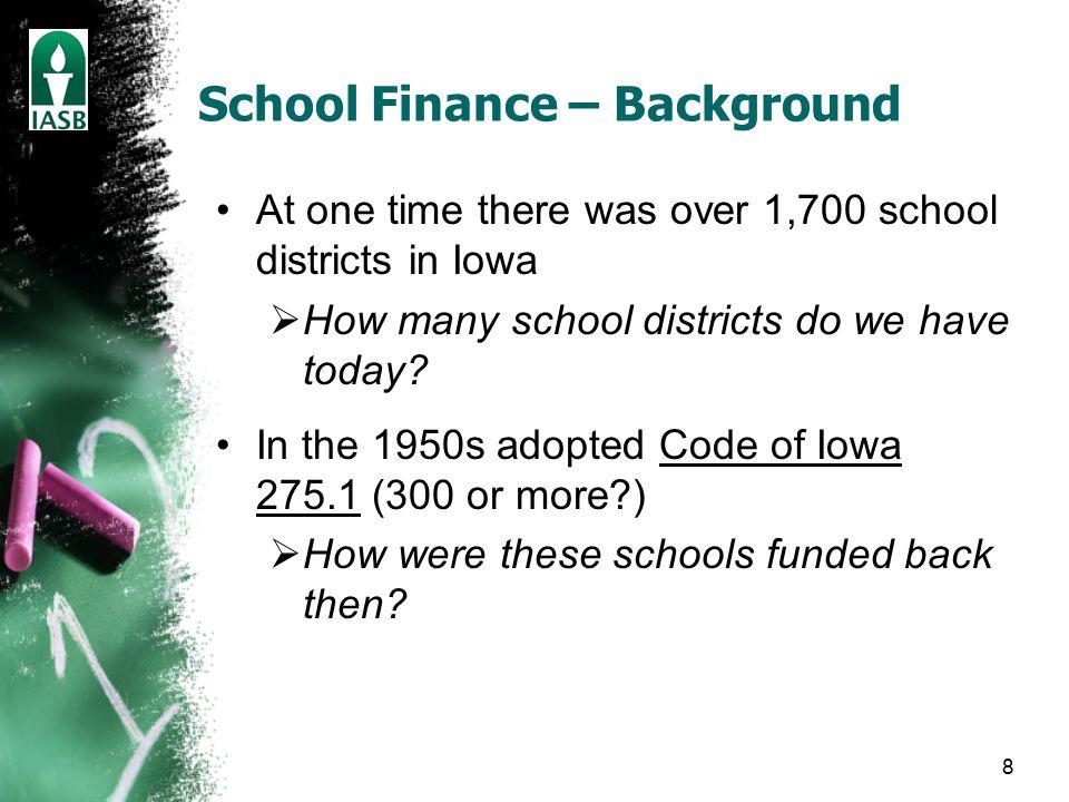 19 Operation of Foundation Formula Two factors affecting a district's Regular Program budgets: 1.Enrollment - increases or decreases in enrollment 2.