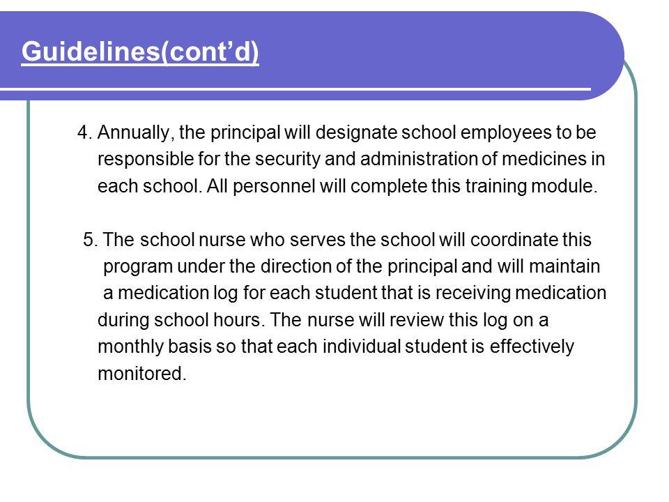 Guidelines(cont'd) 6.