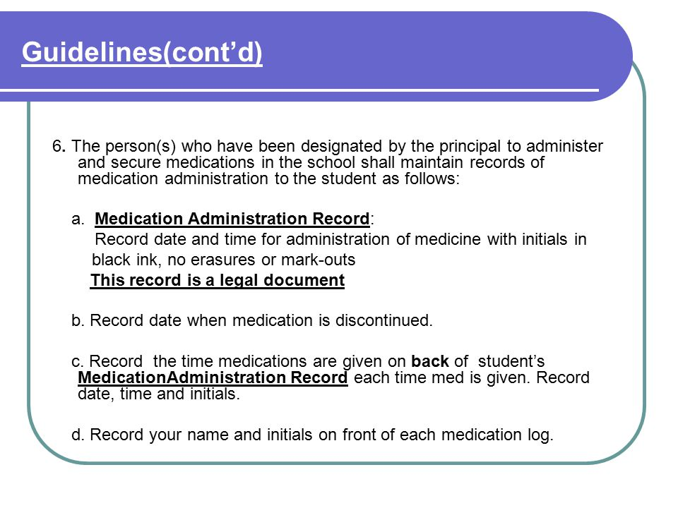 Guidelines(cont'd) 7.