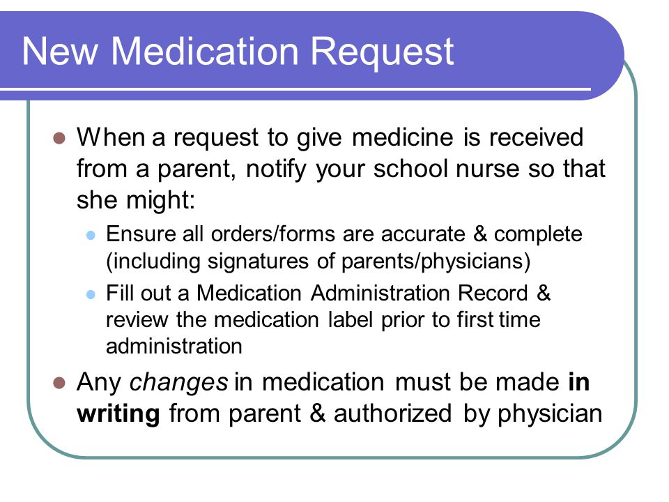 6 Rights of Giving Medicine Right Student Right Medicine Right Dose Right Time Right Route Right Recording