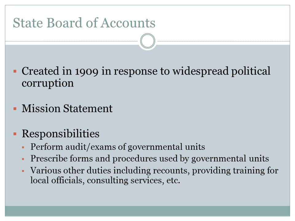 Membership Dues  IC 20-26-5-8 states in part: The governing body of a school corporation may appropriate necessary funds to provide membership of the school corporation in state and national associations of an educational nature that have as the associations purpose the improvement of school governmental operations.  Accordingly, the State Board of Accounts is of the audit position that dues, memberships and subscriptions should be institutional memberships; i.e., in the name of the school corporation or school building, not an individual s name.
