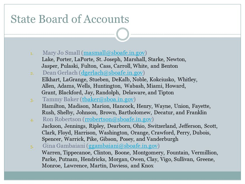 Deposits and Accounts  The treasurer shall deposit all receipts in one bank account.