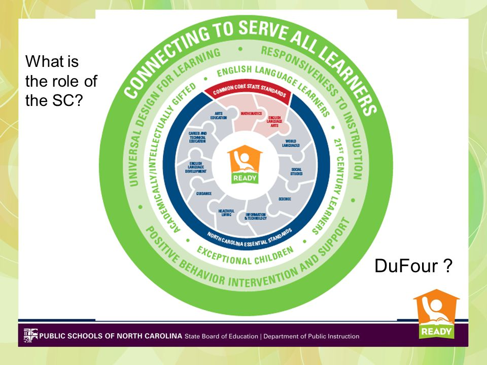 DuFour ? What is the role of the SC?